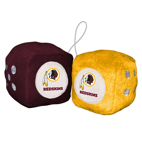 NFL Washington Redskins Fuzzy Dice