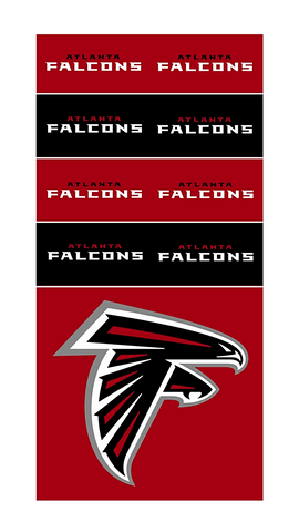 NFL ATLANTA FALCONS SuperDana Neck Scarf Gaiter Mask Bandana