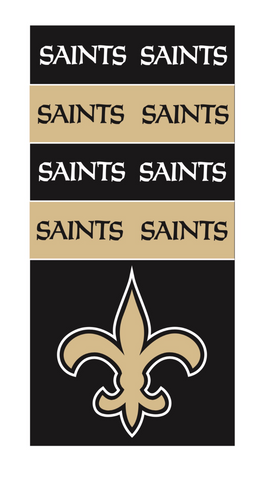 New Orleans Saints SuperDana Neck Scarf Gaiter Mask Bandana NFL