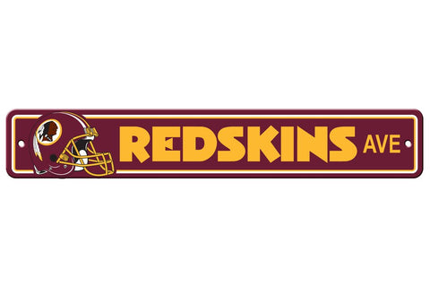 NFL Washington Redskins Street Sign