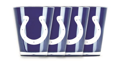 INDIANAPOLIS COLTS INSULATED SHOT GLASS - 4PC/SET