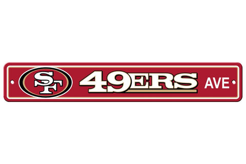 NFL San Francisco 49ers Street Sign