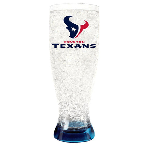 HOUSTON TEXANS FLARED PILSNER  16-OZ.