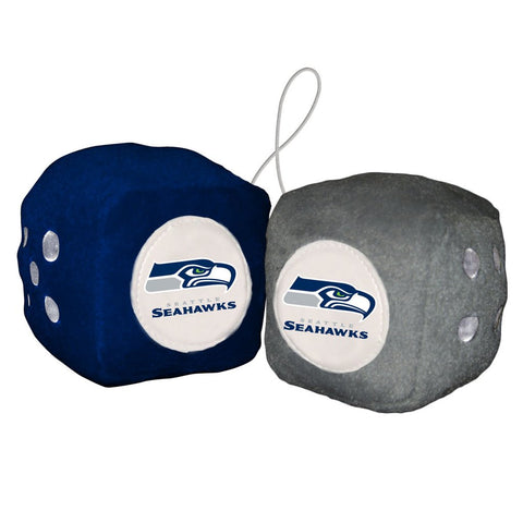NFL Seattle Seahawks Fuzzy Dice