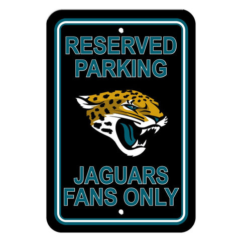NFL Jacksonville Jaguars Reserved Parking Sign