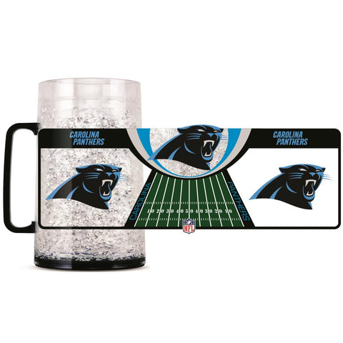 CAROLINA PANTHERS MONSTER FREEZER MUG - 38 OZ.