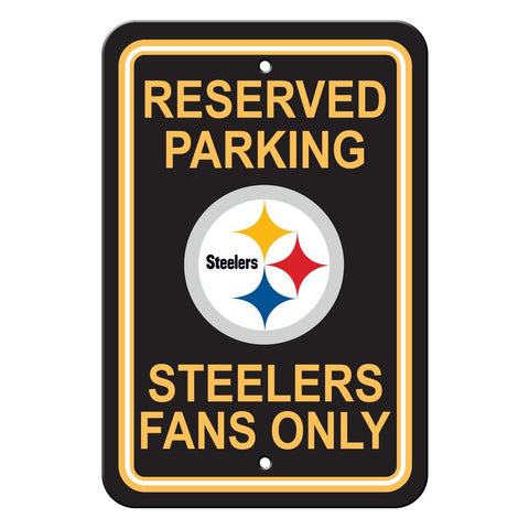 NFL Pittsburgh Steelers Reserved Parking Sign