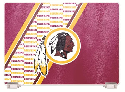 WASHINGTON REDSKINS TEMPERED GLASS CUTTING BOARD