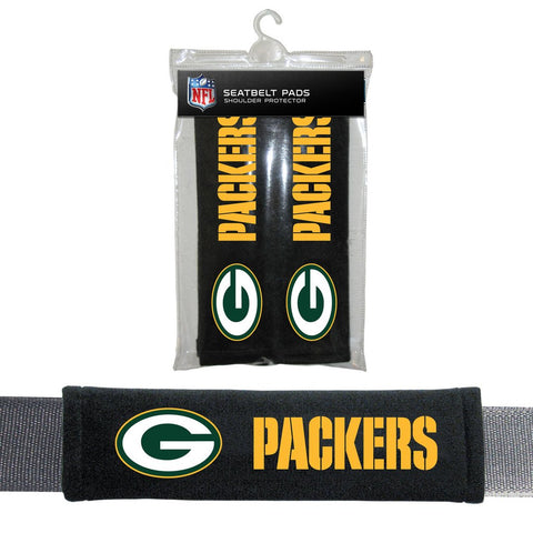 NFL Green Bay Packers Seat Belt Pads