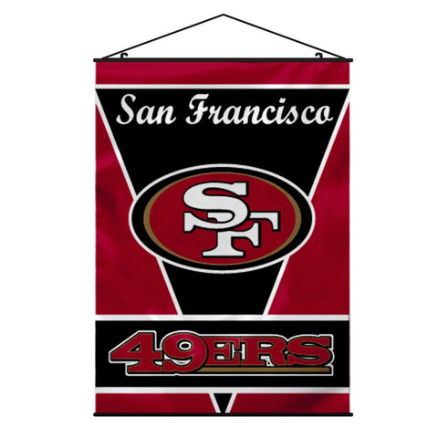 NFL SAN FRANCISCO 49ERS WALL BANNER