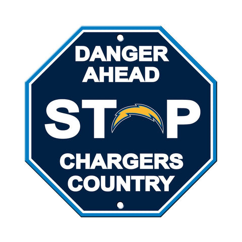 NFL Los Angeles Chargers Stop Sign