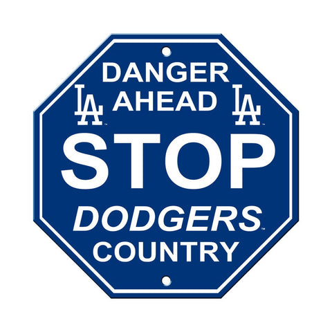 MLB Los Angeles Dodgers Stop Sign