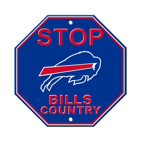 NFL Buffalo Bills Stop Sign