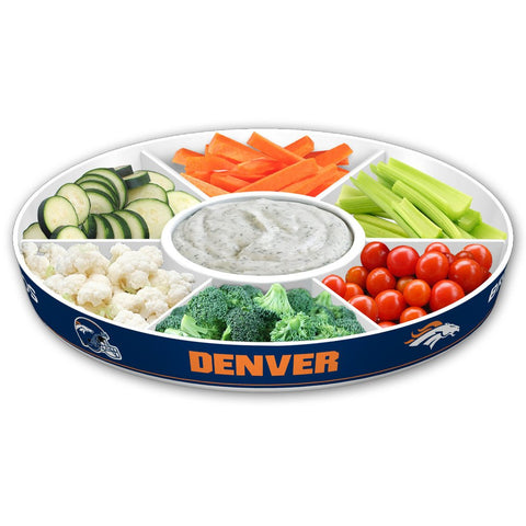 NFL Denver Broncos Party Platter