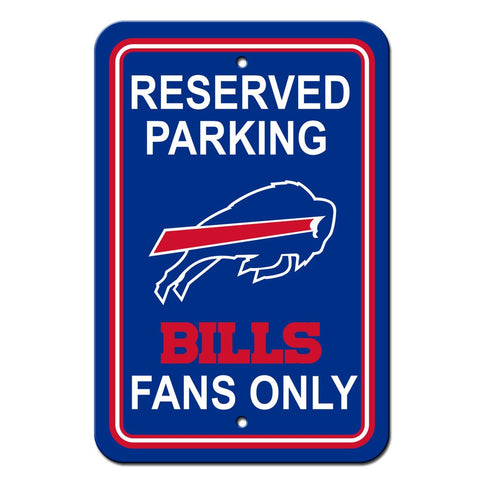 NFL Buffalo Bills Reserved Parking Sign