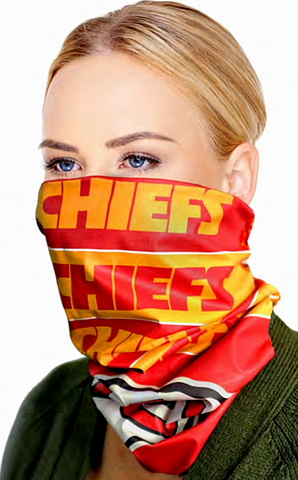 Kansas City Chiefs SuperDana Neck Scarf Gaiter Mask Bandana NFL
