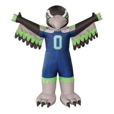 Seattle Seahawks 7 Ft Tall Inflatable Mascot