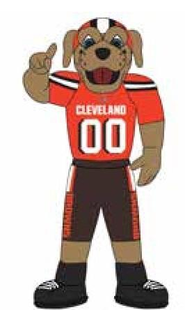 Cleveland Browns 7 Ft Tall Inflatable Mascot