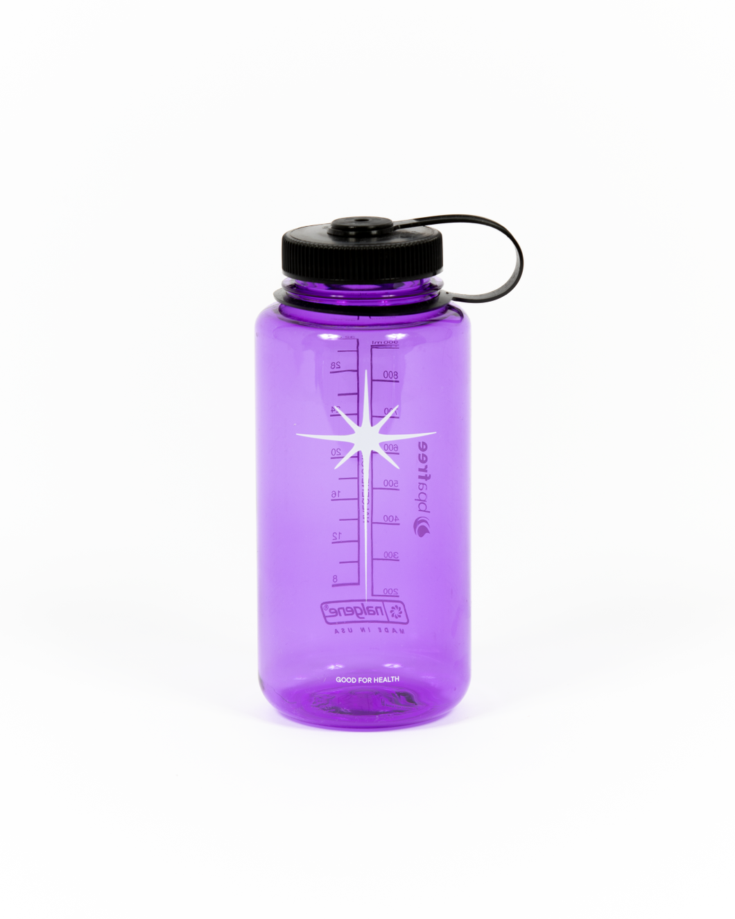 Purple Nalgene 32oz Water Bottle