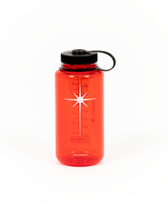 Red Nalgene 32oz Water Bottle