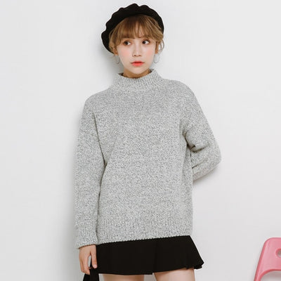 Knitted Sweater Female Autumn Winter