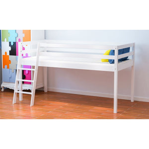 SINGLE MID-SLEEPER - WHITE