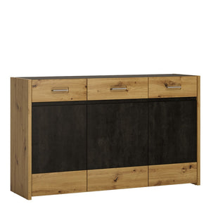 AVILES SIDEBOARD - 3 DOORS, 3 DRAWERS