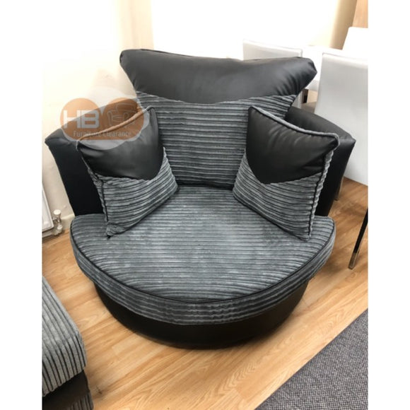 THE CHICAGO SWIVEL CUDDLE CHAIR