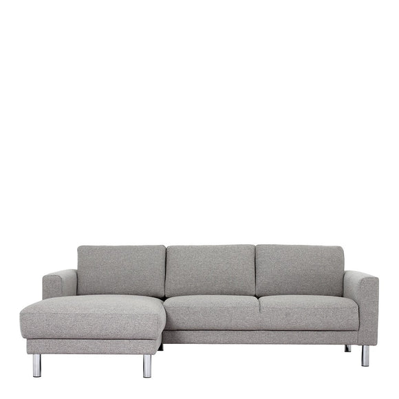 THE CLEVELAND CHAISE LOUNGE SUITE - LIGHT GREY FABRIC