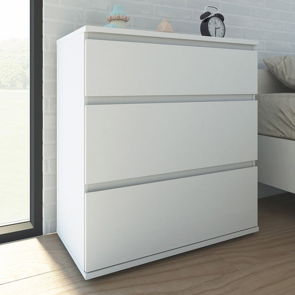 NOVA 3 DRAWER CHEST - 4 COLOURS