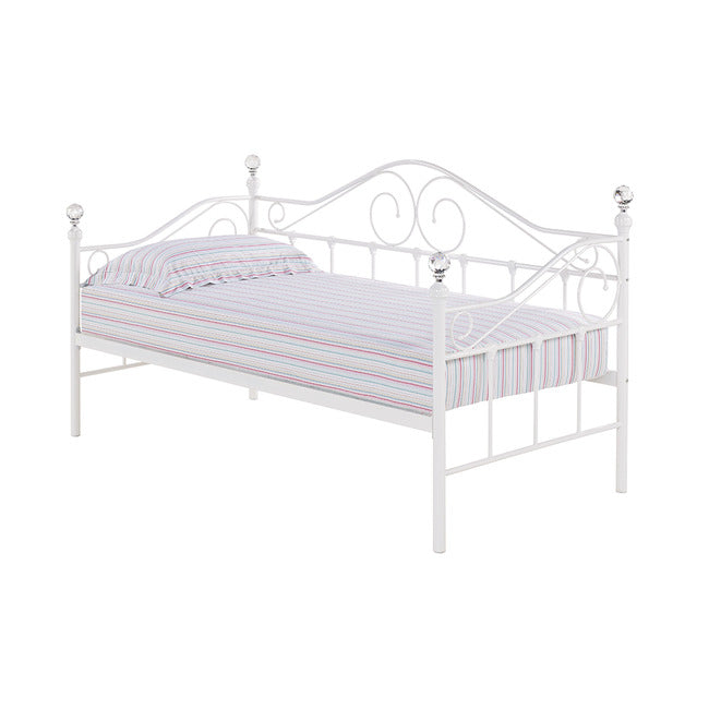 FLORANCE DAY BED - OPTIONAL TRUNDLE (BLACK OR WHITE)