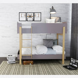 HERO BUNK BEDS - WHITE/OAK OR GREY/OAK