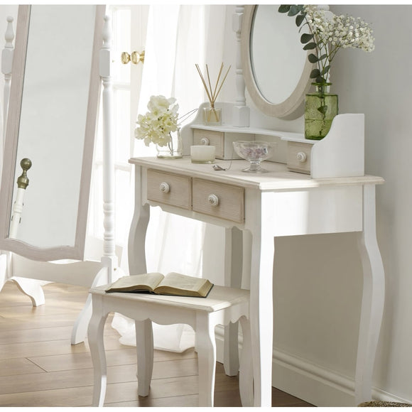 JULIETTE DRESSING TABLE + STOOL