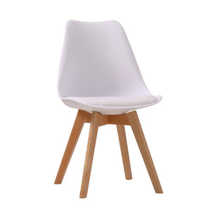 LOUVRE DINING CHAIR - WHITE