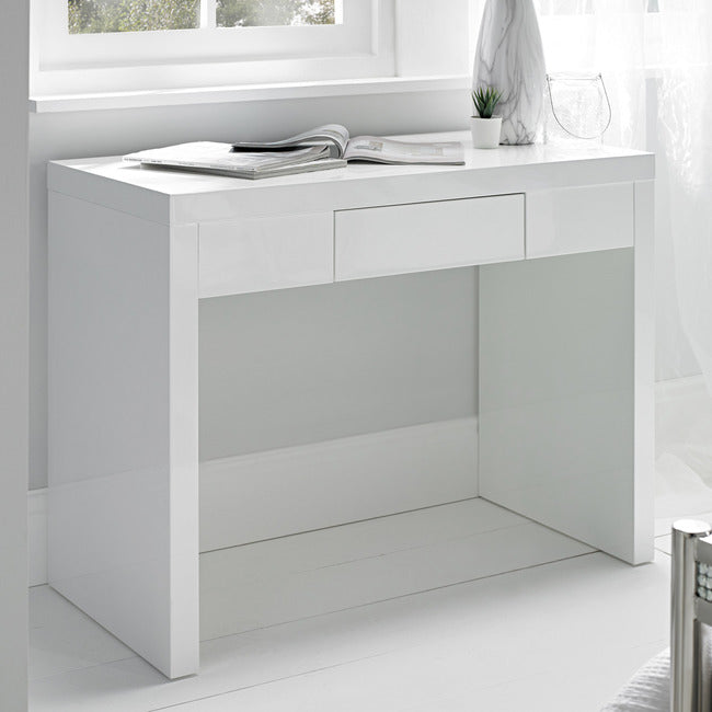 PURO HIGH GLOSS DRESSING TABLE - 4 COLOURS