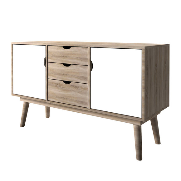 SCANDI RETRO SIDEBOARD - WHITE
