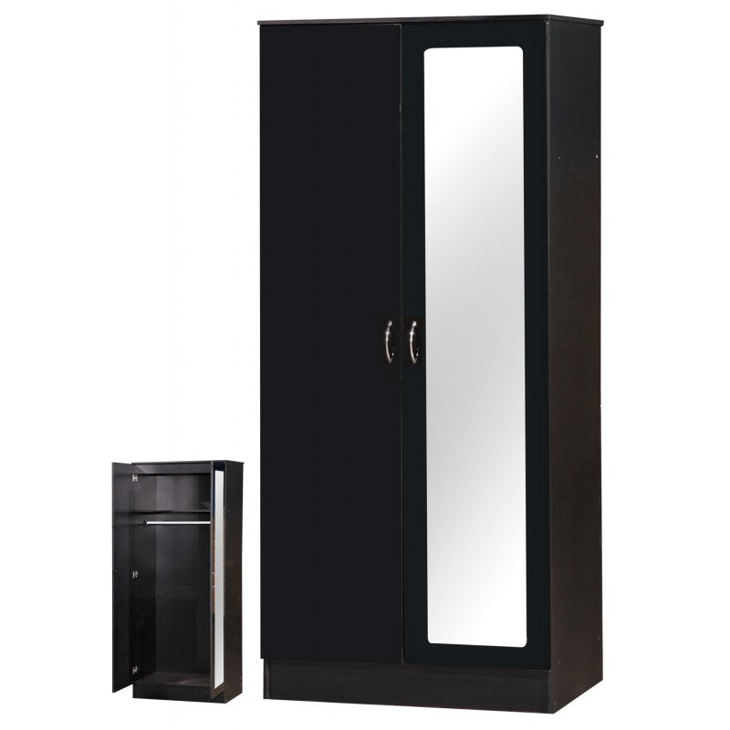 ALPHA BLACK GLOSS TWO-TONE SET - MIRRORED