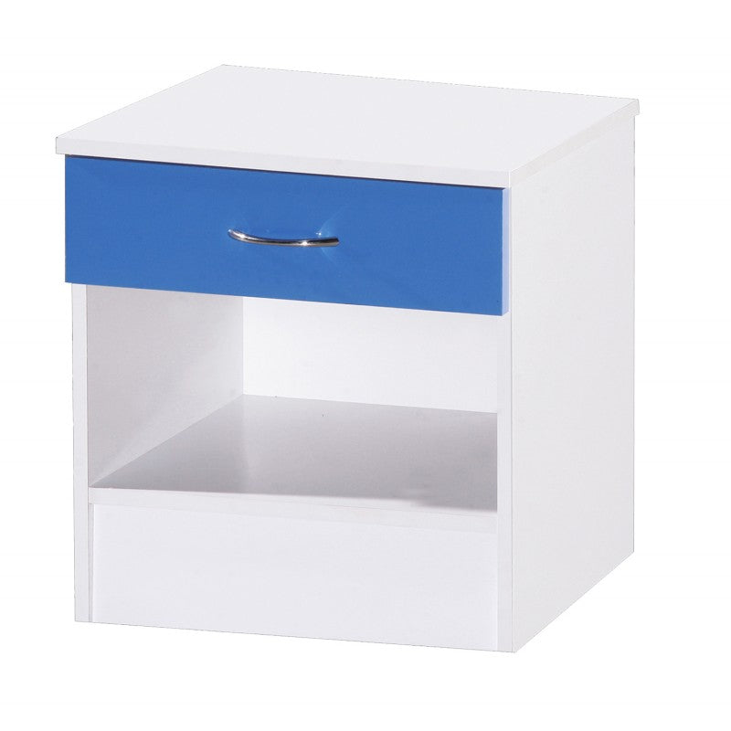 ALPHA BLUE GLOSS & WHITE SET - MIRRORED