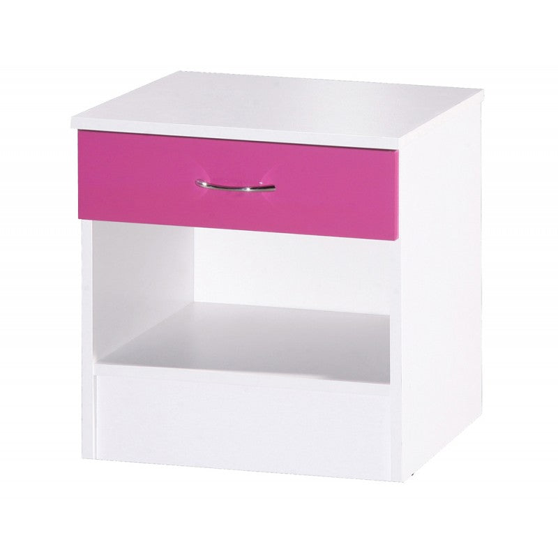 ALPHA BEDSIDE - PINK GLOSS/WHITE