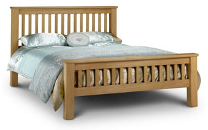 AMSTERDAM OAK BED - (4FT, 4FT6, 5FT)