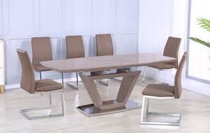 Azore 6 Seater Dining Set - Extendable
