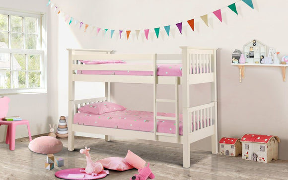 BARCELONA BUNK BED - STONE WHITE