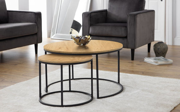BELLINI ROUND NESTING COFFEE TABLES