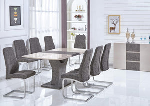 belarus 6 seater dining set - extendable