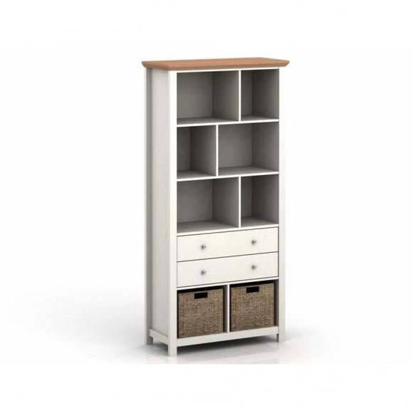 COTSWOLD BOOKCASE - CREAM