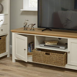 COTSWOLD TV UNIT - CREAM