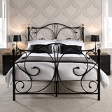 FLORENCE DOUBLE BED - BLACK