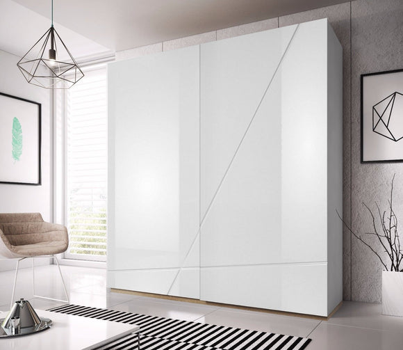 FUTURA SLIDER - 200cm - GLOSS WHITE