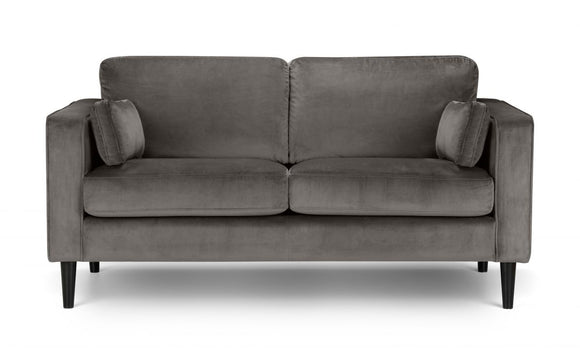 HAYWARD VELVET 2 SEATER SOFA