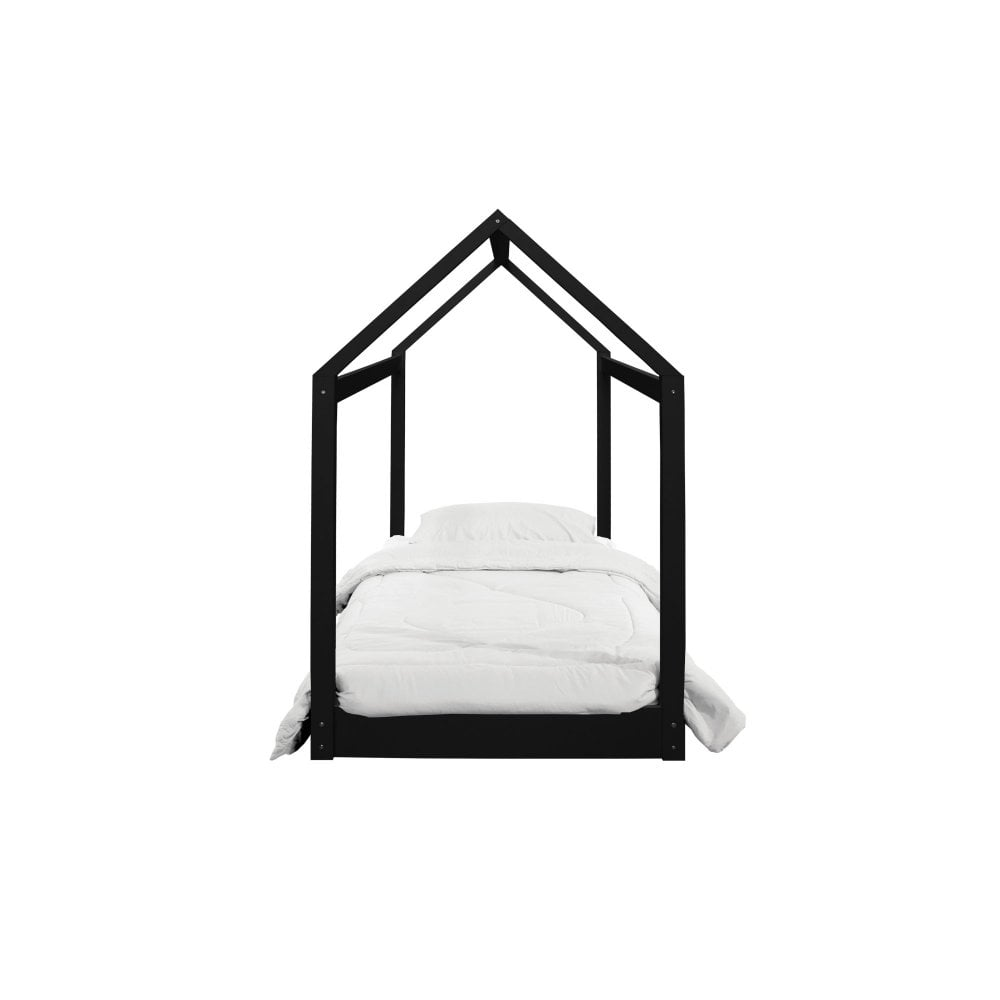 HICKORY HOUSE BED - BLACK